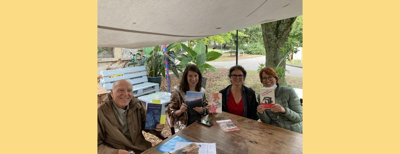 Balade littéraire au parc des Franchises août 2020